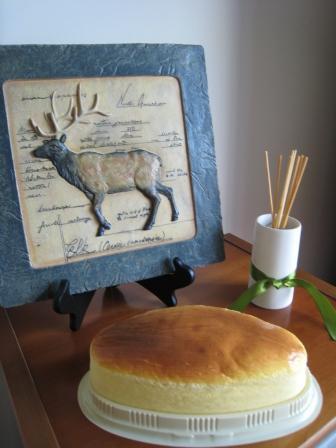 第二个轻乳酪蛋糕(送同事).JPG