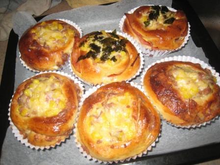 火腿玉米乳酪堡、肉松玉米乳酪堡.JPG